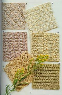 Crochet 2 - Marianna Lara - Álbuns da web do Picasa Crochet Diy, Crochet Motifs, Crochet Blocks, Crochet Diagram, Crochet Stitches Patterns, Lace Patterns, Crochet Squares, Crochet Granny, Stitch Patterns
