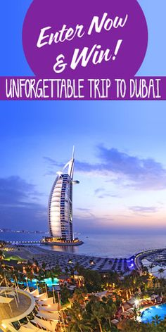 #RePin and #Win an Unforgettable Trip to Dubai! #competition #travel #vacation