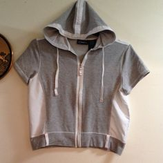 Catalina Stretch Hoodie Zip up Sweatshirt 8/10 Beautiful top Sweaters