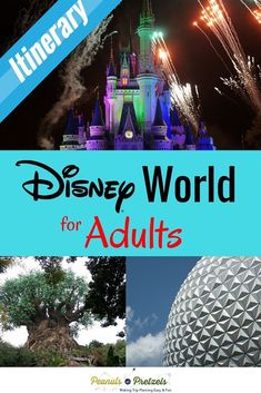There's a lot to do at Disney World for adults, and you want to get the most for your money, and have the best experience possible. So it can be overwhelming to even begin thinking about how to sort through all the information, especially at a place like Disney World Parks, Disney World Planning, Walt Disney World Vacations, Disney World Resorts, Disney Travel, Fun Vacations, Disney Destinations, Disney Worlds, Vacation Resorts
