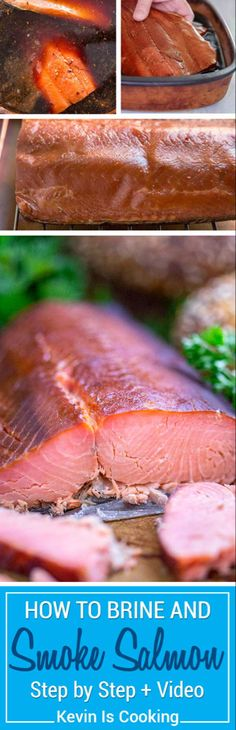 I'll take you step by step through How to Make Smoked Salmon and Brine Recipe and you'll never need purchase store bought smoked salmon again. Smoked Salmon Brine, Best Smoked Salmon, Smoked Salmon Recipes, Smoked Fish, Grilling Recipes, Seafood Recipes, Catfish Recipes, Easy Brine Recipe, Rumchata Recipes