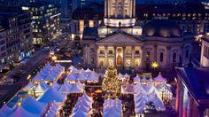 Los mercados navideños son típicos en Berlín