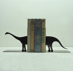 Dinosaur bookends #library #office