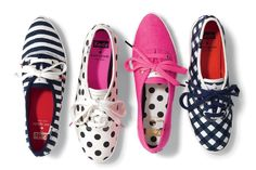Keds and Kate Spade. Couldn't be much better...