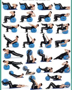 Abs on stability ball