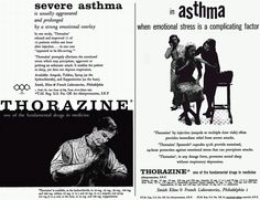 Thorazine for asthma - interesting!