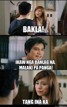 nyahahah! Memes Pinoy, Memes Tagalog, Pinoy Quotes, Filipino Quotes, Filipino Funny, Tagalog Quotes Hugot Funny, Funny Qoutes, Hugot Lines, Filipino Culture