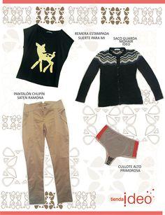 Tienda Ideo: Tienda Ideo te propone algunos looks para lo que queda de la temporada otoño/invierno 2012