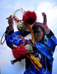 CREOLES MONGOL - BOUCLES D'OREILLES NOMADES TRIBAL MONGOL - REVES ET SOUVENIRS DE MONGOLIE