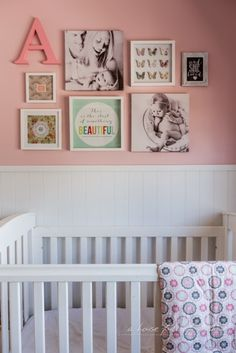 A house full of sunshine: A little girl's gallery wall... and a room reveal!