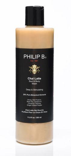 Chai Latte Soul & Body Wash $35.00