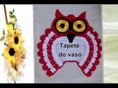 JOGO DE BANHEIRO- CORUJA DORMINHOCA ( TAPETE VASO) - YouTube