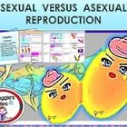 Asexual versus Sexual Reproduction is a 64 slide learning show made in power point and 10 pages of students notes that going to help you to teach t...