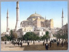 İstanbul-Mosque of St. Sophia, Constantinople, Turkey,(LOC)