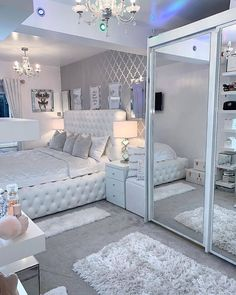 Luxury Bedroom Design, Room Design Bedroom, Girl Bedroom Designs, Room Ideas Bedroom, Home Decor Bedroom, Bedroom Colors, Bed Room, Interior Design, Bedroom Decor For Teen Girls