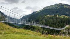 Unser Ausflugstipp: Diei Fußgängerhängebrücke in Holzgau - das ist nichts für schwache Nerven ;) Places, Ski, Fishing, Swim, Summer, Nature, Lugares
