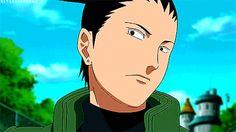 "ullsumbra: "" Endless List of Favorite Characters–Shikamaru Nara (Naruto) [5/∞] """"It's not because I'm lazy, it's just because I don't care."" ""(GIF set)"