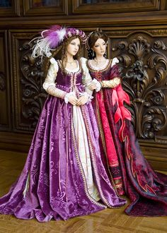 Renaissance Ladies by Martha Boers
