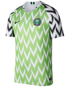 afb82b4a0 2018 World Cup of Soccer Team Nigeria FIFA Home Replica Green Jersey  XX-Large (