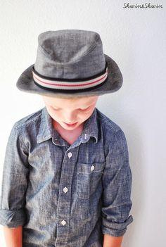 Shwin&Shwin: Fedora Hat Pattern {Blog Tour}