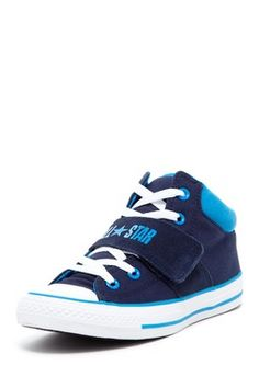 Strap Mid Top Sneaker - Navy/Blue