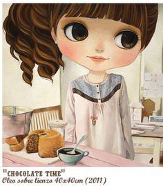 Chocolate time - Nerea Pozo