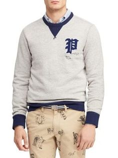 POLO RALPH LAUREN Signature Fleece Sweatshirt.  poloralphlauren  cloth d2365e19bf9