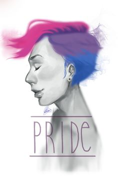 """All of my current PRIDE """"doodles"""" for pride month because no one should be ashamed of who they are."""