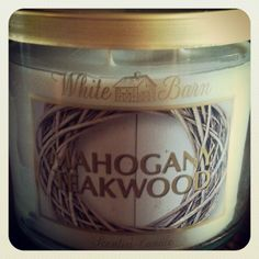 Bath and Body Works candle that smells like Abercrombie & Fitch stores! Mmmm!
