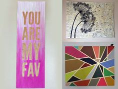 Thanks, I Made It Myself: DIY Wall Art For Non-Artists