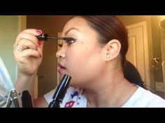 How I Put On My 3D Fiber Lashes When I Want Them REALLLY BIG!!!