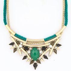 Emerald Aztec Bib