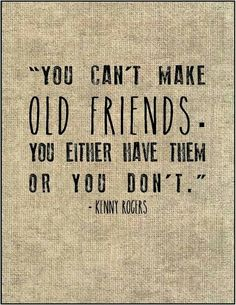 Old friends...
