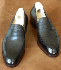 dd17a27923d Saint Crispin s loafer 612 in dark brown - MTO for The Armoury - HongKong Saint  Crispin