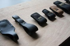 Rugged Leather Drawer Pulls, Heritage Edition
