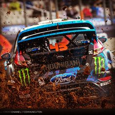 Ken Block Photo by ERC24  ☆ Pinned by www.Rallycross360...