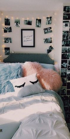 37 Cute and Interesting Bedroom Decorating Tips For Girl ~ Design And Decoration. - 37 Cute and Interesting Bedroom Decorating Tips For Girl ~ Design And Decoration 37 Cute and Inter - Cute Bedroom Ideas, Cute Room Decor, Girl Bedroom Designs, Room Decor Bedroom, Girls Bedroom, Bed Room, Unique Teen Bedrooms, Bedroom Ideas For Small Rooms, Preteen Girls Rooms