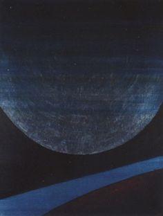 Lune et terre by Anna Eva Bergman