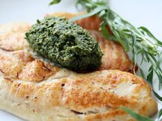 French in a Flash: Tilapia with Tarragon Pistou Recipe | Serious Eats