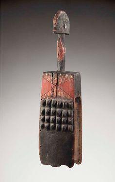 Vertical mask, Wurkun/Bikwin peoples, Nigeria, Early 20th century, Private…