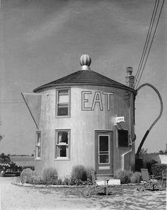 Coffee pot restaurant in Indiana, 1939