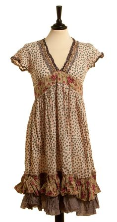 Nadir Positano Love this dress! It's so vintage bohemian and shabby chic