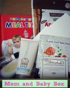 EcoCentric Mom's subscription box is a fun way to test mom- and baby-friendly products! | Fit Bottomed Mamas