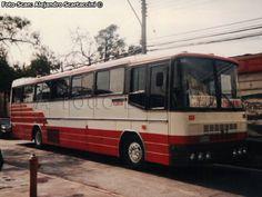 Nielson Diplomata 350 / Volvo / Pullman Bus Costa Central S. Escuderias F1, Commercial Vehicle, Volvo, Chile, Costa, Vehicles, Old Trucks, World, Trucks