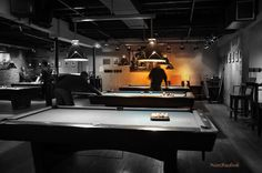 Pool Hall In Royal Oak Interior Ideas Decorating Design Billiards Bar
