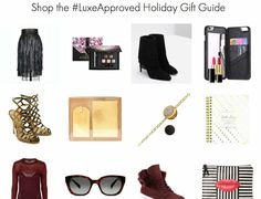 Who's having a hard time holiday shopping for ladies with luxe taste? Here's a helpful gift guide from moi! Enjoy xo http://www.luxeleblanc.com/luxeboutique/ #HolidayGiftGuide
