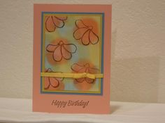 Awash Birthday by slangecreations - Cards and Paper Crafts at Splitcoaststampers