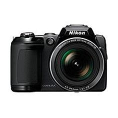 Nikon Coolpix 26253 L120 14.1 Megapixles Digital Camera - 21x Optical Zoom/4x Digital Zoom - 3-inch LCD Display - Black