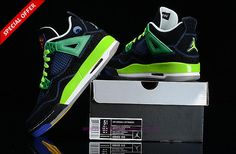 408452-015 AIR JORDAN 4 RETRO Doernbecher Black/Blue/Green Mens-Womens Outlet Sale