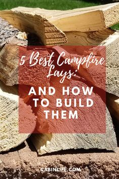 A campfire lay, the method used to assemble a campfire before lighting it, determines how that fire will burn. Learn about the five most useful lays, and when and how to use each. Camping World, Camping Life, Camping Crafts, Camping Hacks, Cabin Activities, Campfire Games, Weekend Camping Trip, Affordable Vacations, Recreational Activities